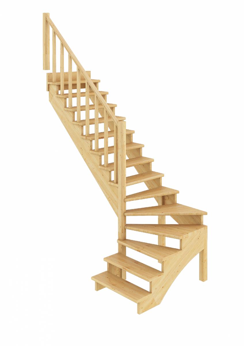 Лестница К-001м/3 левозаходная